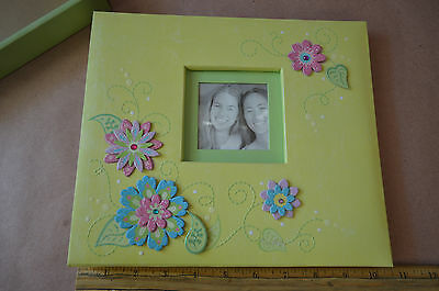 K&Company Post Bound Scrap Book Album 8-1/2-in x 8-1/2-in Sparkly Sweet