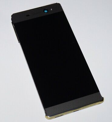 ORIGINAL SONY Xperia XA Ultra f3213 LCD DISPLAY TOUCHSCREEN FRAME COVER BLACK
