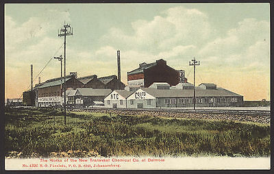 South Africa. Transvaal. Works of the New Transvaal Chemical Co. at Delmore. PC
