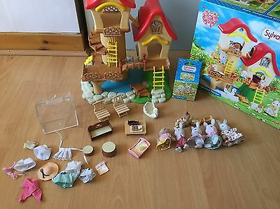 Sylvanian Families Baby Fairground House With Box