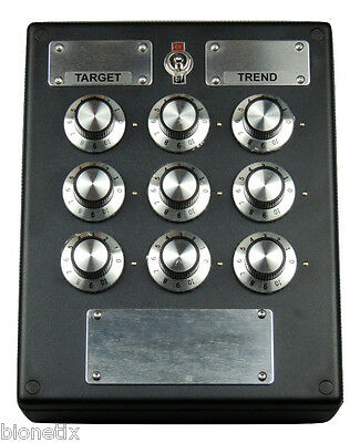 9 DIAL TUNER RADIONIC BOX BROADCAST / TRANSMIT - Free Express Delivery Worldwide