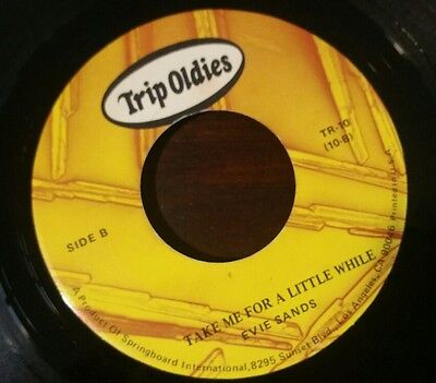 EVIE SANDS Take Me For A Little While NORTHERN SOUL TRIP REISSUE VG++ Vinyl 7""