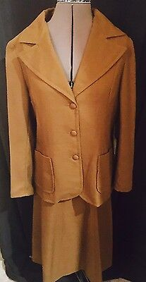 Vintage 80s Morel Saunders Two Piece Skirt And Jacket Set Size 14 To 16