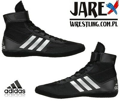 Adidas Wrestling Combat Speed 5 Black Boots Shoes Adults Mens Pro - BA8007