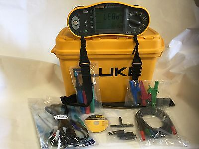 Fluke 1652C 17th Edition Multifunction Tester, 12 Months Calibration, + Extra's.
