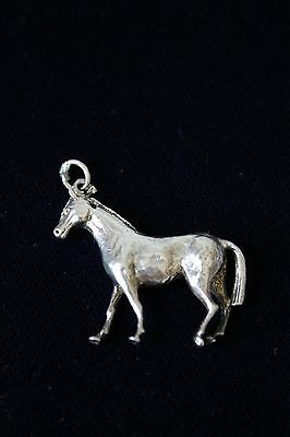 Vintage Sterling Silver charm - Horse - weighs 9 grams!