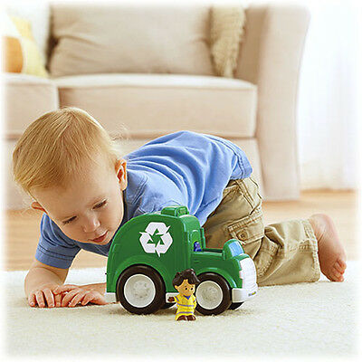 Fisher Price Little People Recycle Truck Brand New Bdy80