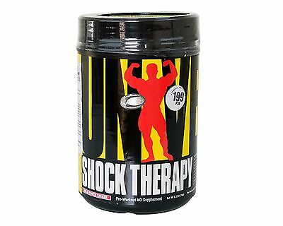 Universal Nutrition SHOCK THERAPY- 200 grams All-In-One Pre-Workout - Grape Ape.