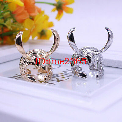 Thor The Dark World LOKI Ring Alloy Marvel The Avengers Cosplay Gift 2 Style