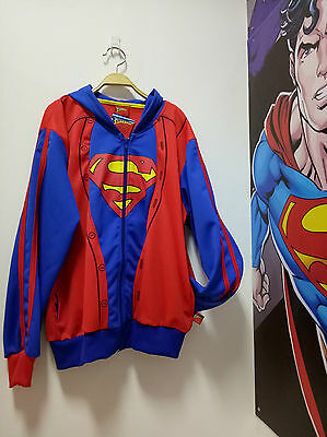 Superman Jacket official licence with Hood & Wing for kids Size XL