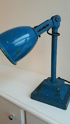 Antique Industrial Dugdills Desk Lamp