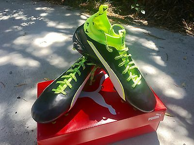 Puma evoTouch 1 FG | Football Soccer Boots | Leather size 8US/7UK