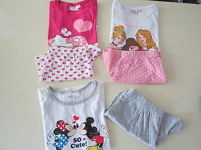 Joli lot de 3 pyjamas DISNEY fille...., 8 ans