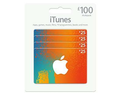 iTunes Gift Card £100