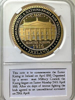 Ireland 1916 Easter Rising Collectors Coin