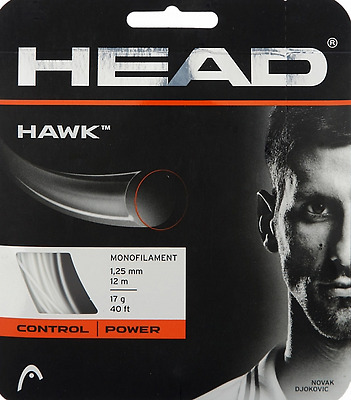 Tennis string - Head Hawk 1.25mm / 17L, white