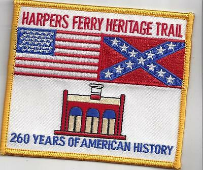Harpers Ferry National Heritage Trail, Wv Souvenir Patch -Civil War