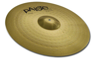 "Paiste Ride Piatto Professionale 20"" Batteria Acustica Drum Cymbal Medio Volume"