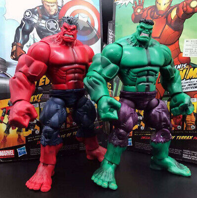 Marvel Legends The Avengers Incredible Hulk & Red Hulk TRU Loose Action Figure