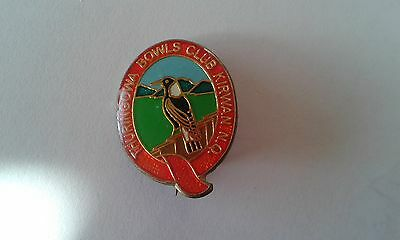 Badge Thuringowa Bowling Club with pin