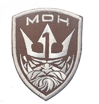 Medal of Honor: MOH Neptune ARMY MORALE HOOK & LOOP EMBROIDERED LOGO Patch S906