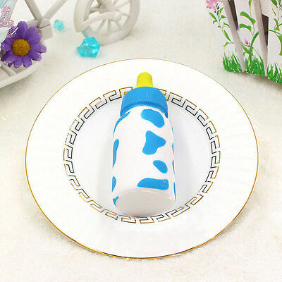 Slow Rising Squishy Feeding Bottle Scented Bread Charm Bag Strap Squeeze Toy*16