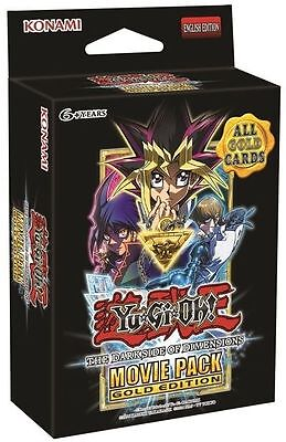 Yu-Gi-Oh The Darkside Of Dimensions Movie Pack Gold Edition Booster