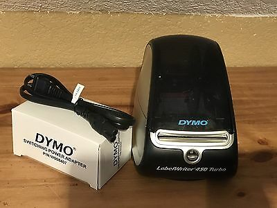 Dymo LabelWriter 450 Turbo Thermal Printer. Excellent Condition