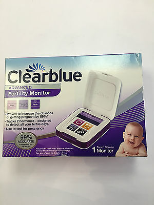 New Model Clearblue Advanced Fertility Monitor Touch Screen 89% accurate