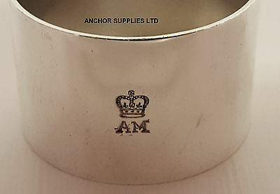 Genuine Air Ministry Silver Plated Napkin Rings x 1 Officers Mess (A326)