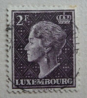 Stamp of Luxembourg 1948. Used.