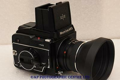 Mamiya M645 Film Camera c/w 80mm F2.8 WLF GREAT CONDITION