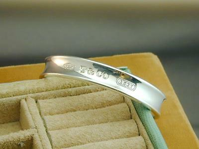 Tiffany & Co. Narrow Cuff Sterlingsilber Armband Bracelet 1837 Collection