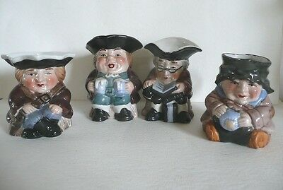 Royal Doulton Leonardo Collection Exported Toby Character Jugs Handpainted