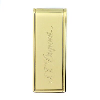 S.T. Dupont Yellow Gold PVD Money clip - 003080
