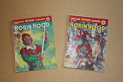 Thriller Picture Library Nos. 206 & 230 Robin Hood