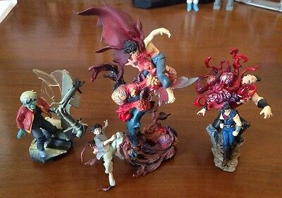 Lot 4 Gashapon! 2 Akira 1 Fist Of The North Star AND 1 Samurai Hellboy RARE HTF