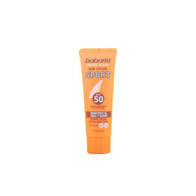 SOLAR SPORT crema solar facial waterproof SPF50 75 ml
