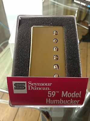 seymour duncan 59 sh1n gold cover neck pickup