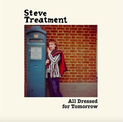 STEVE TREATMENT All Dressed For Tomorrow LP . punk swell maps marc bolan diy