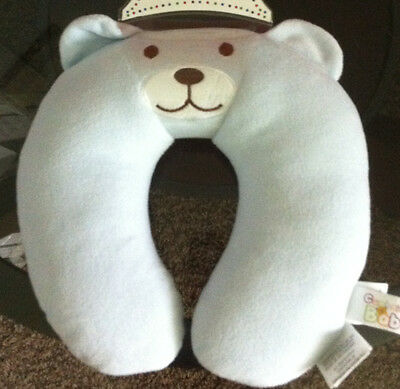 Newborn Neck Support Pillow, Car Seat Neck Support, Baby Bear NEW