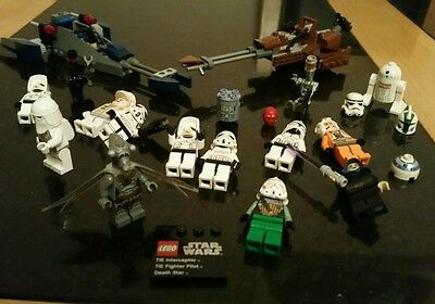 lego star wars job lot minifigures and spares