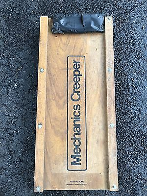 Vintage Mechanics Wooden Creeper SC100