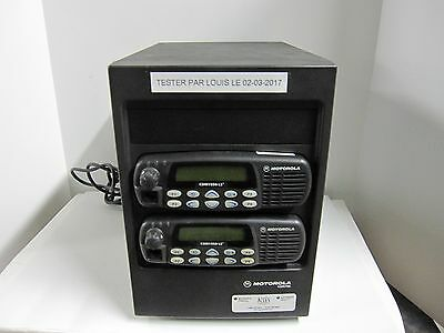 Motorola CDR700 Repeater with CDM1550-LS+ UHF Mobiles (403-470MHz)
