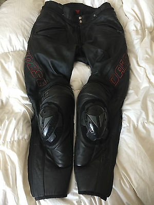 Dainese Leather Motorbike Motorcycle Trousers