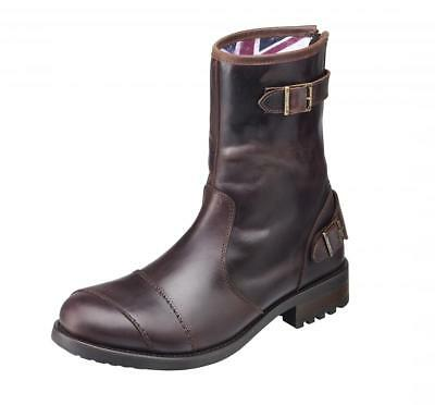 Triumph Vintage Red Leather Dadlington Boot