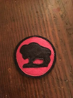 WWI US Army patch 92nd Division Artillery patch AEF