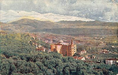 Granada Andalusia Spain El Hotel Alhambra Palace & Sierra Nevada Mtns pc Z36413