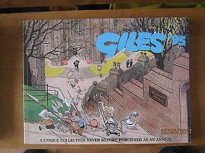 Daily Express Giles 1995 Cartoon Annual   48th Forty Eighth Series. Unclipped