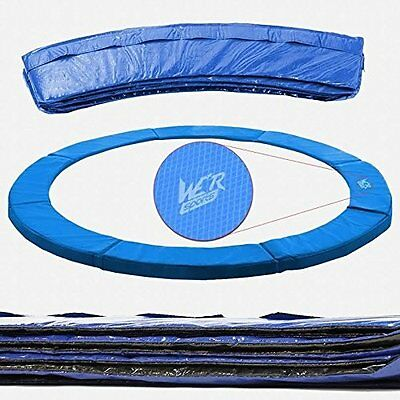 8FT Replacement Trampoline Safety Spring Cover Padding Pads PVC Mat - Blue